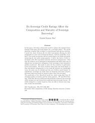 Do Sovereign Credit Ratings Affect the Composition - Buffalo State ...