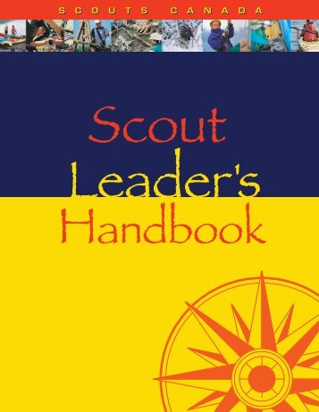 Scout Leader Handbook - Scouts Canada