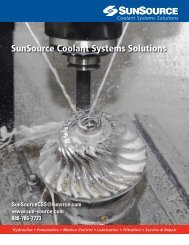 SunSource Coolant Systems Solutions