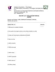 Instituto Universitario y Tecnológico IUYTEM Instituto Universitario y ...