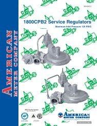 1800CPB2 Service Regulators - Miners & Pisani, Inc.