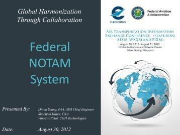 Federal NOTAM System - AiXM