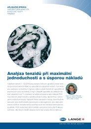 Analýza tenzidů při maximální jednoduchosti a s ... - HACH LANGE