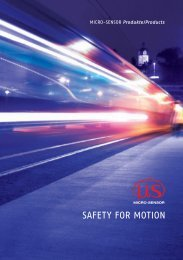 SafeTy for MoTion