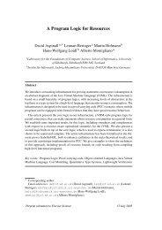 A Program Logic for Resources - Informatics Group Pages Server ...