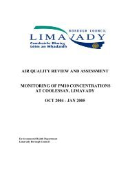 air quality review and assessment monitoring of pm10 ...