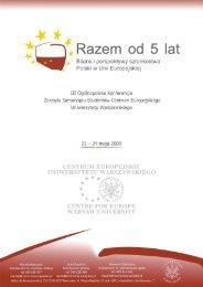Program konferencji - Wydział Prawa i Administracji UW