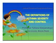 asthma education-Slavyanskaya - World Allergy Organization