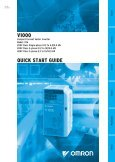 V1000 QUICK START GUIDE - OMRON Russia ...