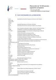 Les partenaires - economie.gouv