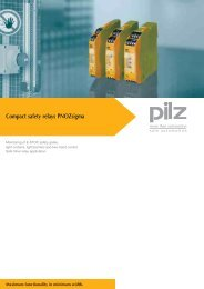 Compact safety relays PNOZsigma - ISE Controls