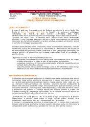 NUOVE TECNOLOGIE DELL'ARTE TEORIA E TECNICA DELLA ...