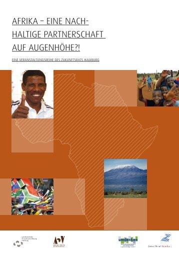 Afrika – Nachhaltige Partnerschaft auf Augenhöhe?! - Zukunftsrat ...