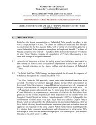 1. INTRODUCTION - Vanbandhu Kalyan Yojana - Government of ...