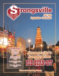 fitness programs - The City of Strongsville