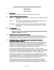 Board Meeting Minutes 03-10-11(pdf) - NEMCMH.org