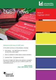 lgbtnews 06 - Leicestershire County Council