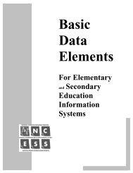 Basic Data Elements - National Center for Education Statistics - U.S. ...