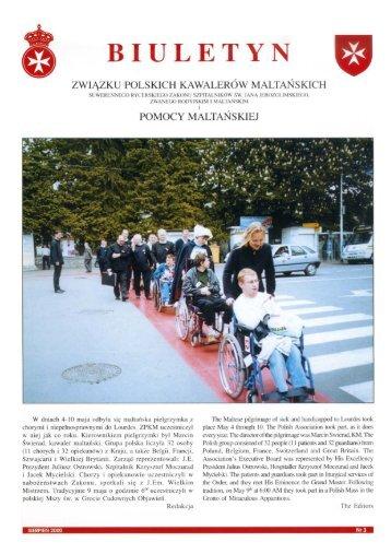 Biuletyn nr 3 01-Aug-2000 - Zakon Maltański Polska