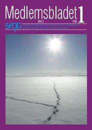 Medlemsblad 1 2012 - SFOG