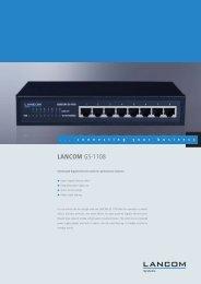 LANCOM GS-1108 - LANCOM Systems