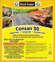 Label 10390 Consan 20 Approved 06-13-12 - Fertilome