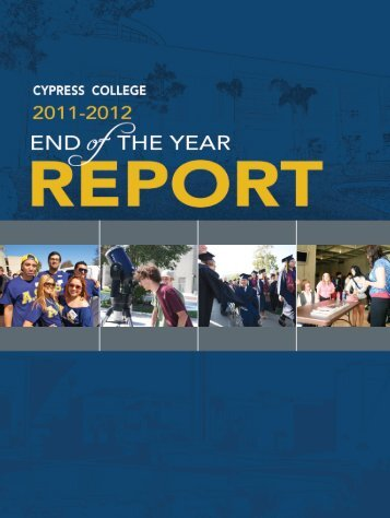 Cypress College 2011-2012 End of the Year Report - News ...