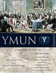 Yale Congress of Vienna Package - Markville Secondary School