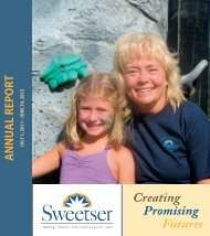 annual report - Sweetser