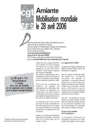 Amiante 28 avril rassemblement.pmd