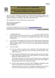 (B) Legal Profession (International Services) Rules - Law Society of ...