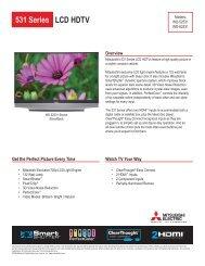 531 Series LCD HDTV