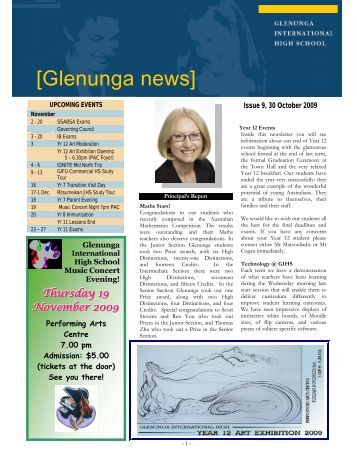 Newsletter Issue 9
