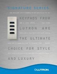 Signature Keypads