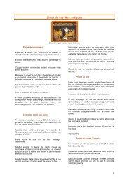 Téléchargez le livret de recettes antiques