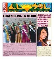 ELIGEN REINA EN MIXCO - ElsoldeMixco.com