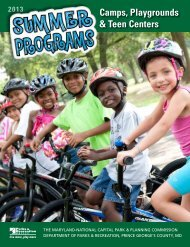 Download the PDF - Department of Parks and Recreation
