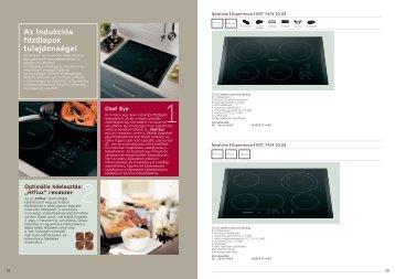 75 cm széles főzőlapok - WEB-SET