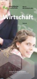 Wirtschaft - Startseite: Fachhochschule, Gelsenkirchen, Bocholt ...