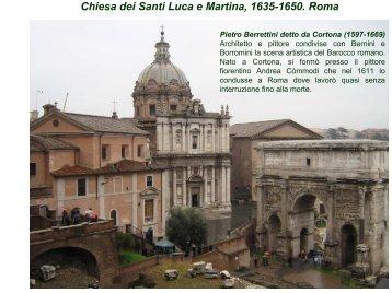 Chiesa dei Santi Luca e Martina Interno