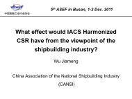 maric,cssc - ASEF - Asian Shipbuilding Experts