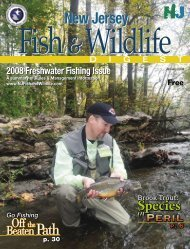 Complete 2008 Freshwater Fishing Issue of the Fish and Wildlife ...