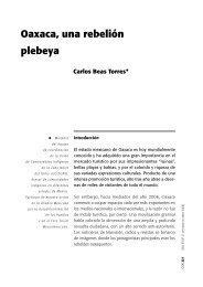 Oaxaca, una rebelión plebeya - Hecho Histórico