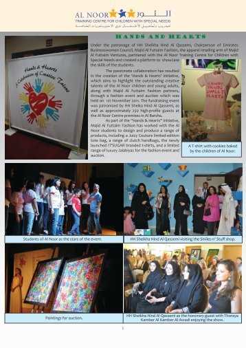 Outreach Winter Edition 2011 Insert - Al Noor Training Centre for ...
