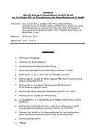 Protokoll G-Vertreter 2011 10 17 _2 - St. Gerold