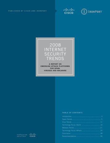 2008 Internet SecurIty trendS - Computerworld