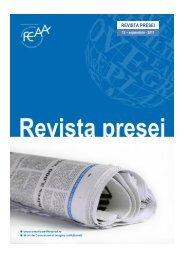 REVISTA PRESEI - FEAA - Universitatea de Vest din Timisoara