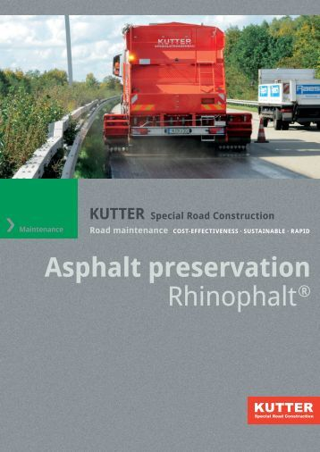PDF-Download - KUTTER Spezialstraßenbau GmbH & Co. KG