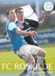 FC Roskilde Profilavis - Oktober 2012