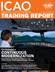 TRAINING REPORT - ICAO - International Civil Aviation Organization